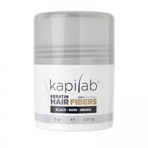 Microfibras para el cabello Kapilab color Negro 8437017718215