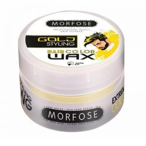 Cera para el pelo Morfose Wax color Dorado 8681701001347